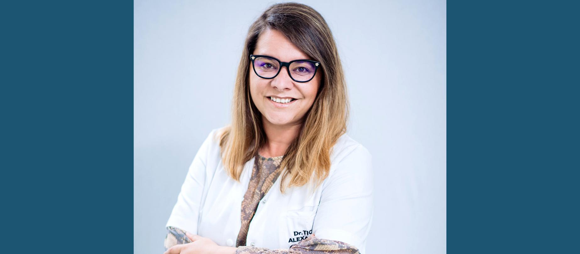 Dr. Alexandra Țicle Medic specialist oftalmolog și oftalmopediatru
